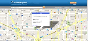 Google Maps for Business Crime Reports