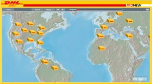Google Maps for Business DHL
