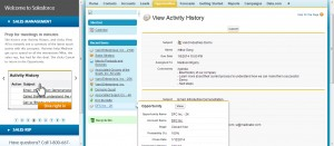 03 CRM Test Drive - View Activity History